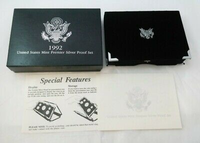 1992 United States Mint Premier Silver Proof Set - OGP