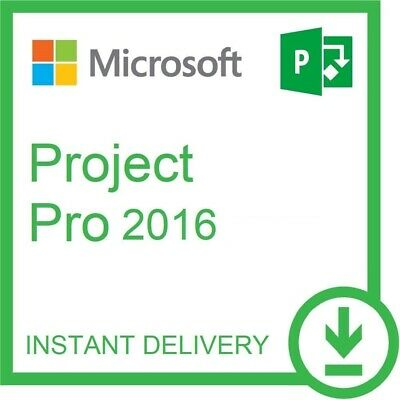 Microsoft Project Professional 2016 License Key - INSTANT DELIVERY !!!
