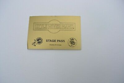 1970S LITTLE RIVER BAND Back Stage Pass - Concert Prod. Int'l.