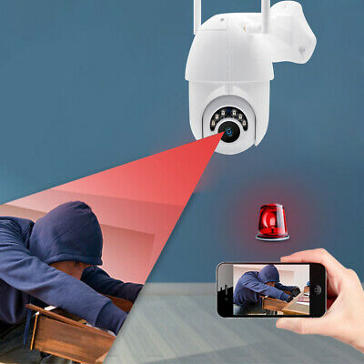 V380 1080P HD Wireless Outdoor CCTV PTZ WIFI IP Camera Dome Security IR Cam