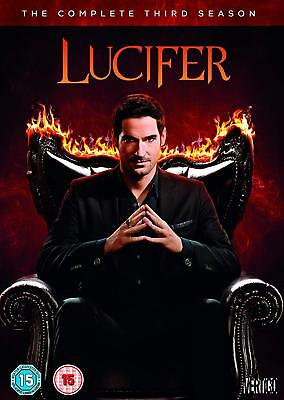 Lucifer – Season 3 DVD Fantasy Drama