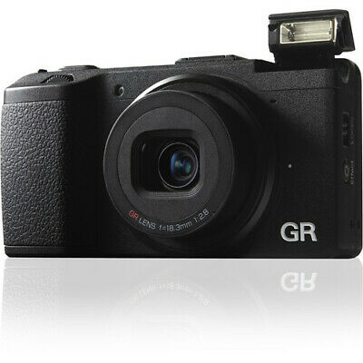 Ricoh GR II 16.2MP Digital Camera - (Black)