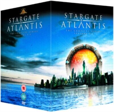 Stargate Atlantis - Seasons 1-5 - Complete [DVD], 5039036041300