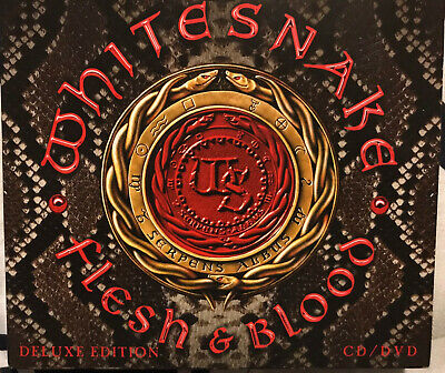 Whitesnake -- Flesh and Blood  / Deluxe Edition CD + DVD