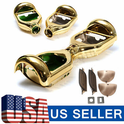 Gold Shell Outer Kit Cover For 6.5'' 2 Wheels Self Balancing Electric Scooter US