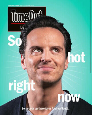 London Time Out Magazine 18th June 2019: Andrew Scott Cover Interview