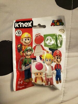 "K/'NEX SUPER MARIO FIGURE SERIES 10 /""CANNON LUIGI/"" COMPLETE YOUR COLLECTION!"