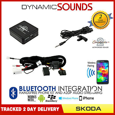 CTASKBT003 Skoda Superb Bluetooth music streaming adapter handsfree AUX iPhone
