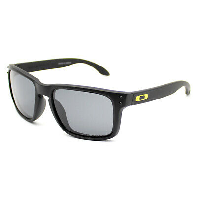 Fashion Sports Oakley Holbrook Polarized Sunglasses Matt Black Frame Grey Lens