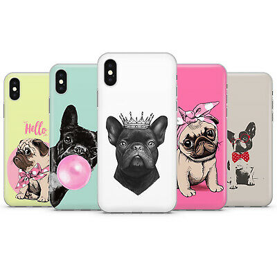 French bulldog Phone case cover fits for iPhone 5 6 7 8 11 xr x/xs