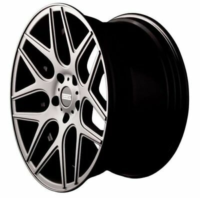 Fondmetal Stc-Ms Silver Rim 8.5x20 - 20 Inch 5x112 Bolt Circle