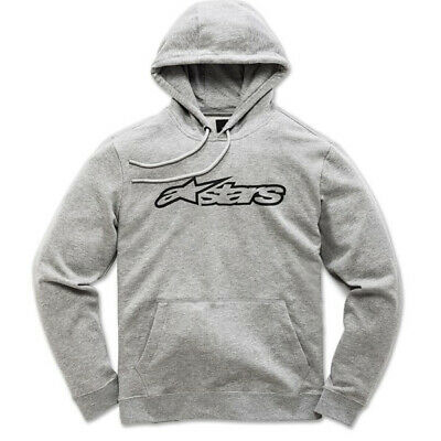 Alpinestars Blaze Fleece Grey Black Hoodie