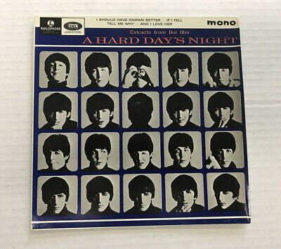 The Beatles-Extracts From A Hard Days Night-Uk Ep-Vinyl 6.0,Sleeve 8.0
