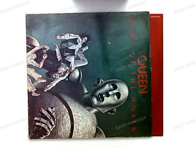 Queen - News Of The World GER LP 1977 + Innerbag .