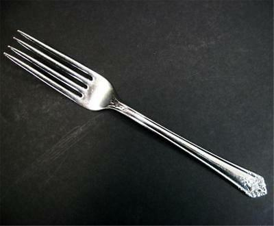 Cocktail Seafood Fork Vintage 1847 Rogers Bros First Love Silverplate IS Silver