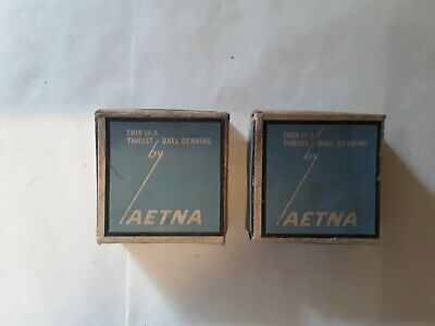 "Two Vintage Aetna Wheel  bearing Assemblies  No. E 11  1 1/8"".Hub.Bushings."