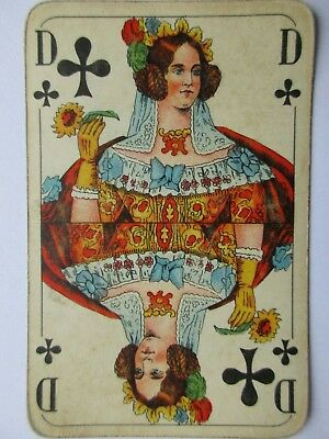 VASS. Antikes Kartenspiel. Great antique playing cards. Germany. Nazi Tax Stamp.