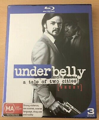 UNDERBELLY: A TALE of Two Cities NEW PAL Cult 4-DVD Set R  Billing S