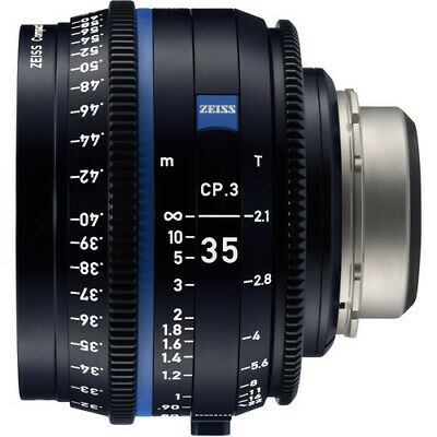 BRAND NEW ZEISS CP.3 35mm T2.1 Compact Prime Lens (Sony E Mount, Feet) NEW