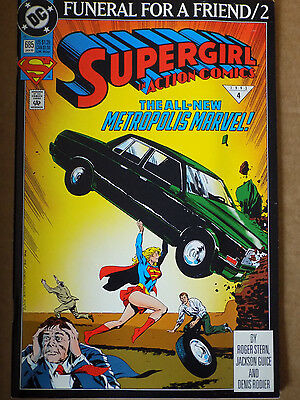 10 copies as a wholesale lot-DC COMIC SUPERGIRL FUNERAL FOR A FRIEND #2   BIN 77