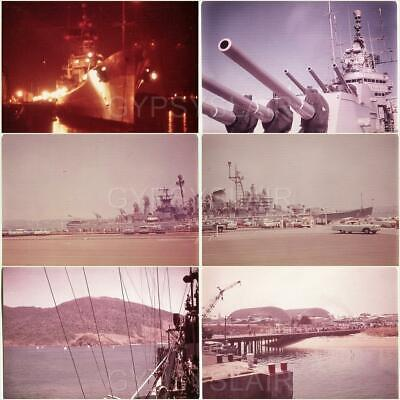 (6) 1965 Photos USS CANBERRA CAG2 Westpac Hong Kong to San Diego WELCOME HOME