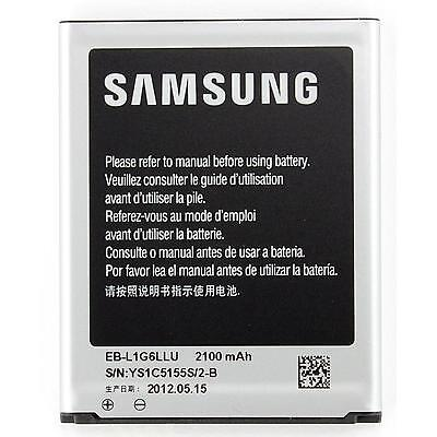 Original Battery Rechargeable EB-L1G6LLU Samsung Galaxy for GT-i9305 S3 4G LTE