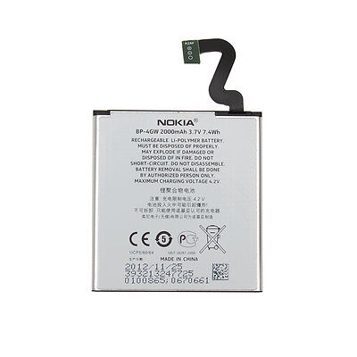 100% Original Battery Bateria Nokia Original Battery BP-4GW Nokia for Lumia 920
