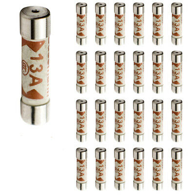 5PC 13A Domestic Fuses Plug Top Household Mains 13amp Cartridge Fuse Well