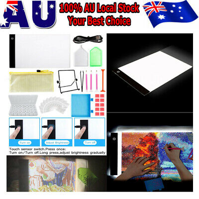 5D Diamond Painting Embroidery Accessories A4 Lamp LED Pad Light Board Drawing