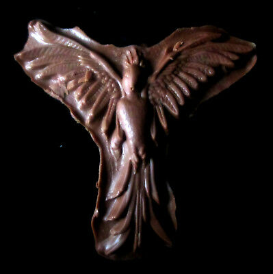 Phoenix  -Flexible Silicone Mold-Cake Bird 3p  Cookie Crafts Cupcake Clay Candy