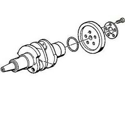 Flywheel Bolt, BMW R Airhead; 11 22 1 262 060 / FlywheelBolt060