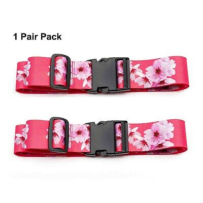Teeoff Luggage Straps Suitcase Belts Travel Bag Belts 220CM(1 Pair Pack)