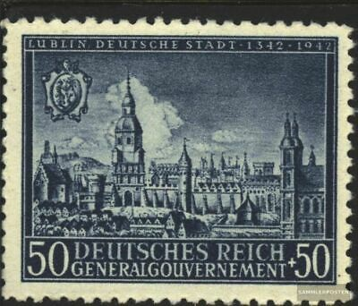 General 94 unmounted mint / never hinged 1942 City Lublin