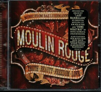 MOULIN ROUGE - Original Soundtrack - CD Album *Baz Luhrmann* *Mint Condition*