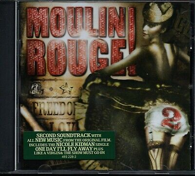 MOULIN ROUGE 2 - Original Soundtrack - CD Album *Baz Luhrmann* *Mint Condition*