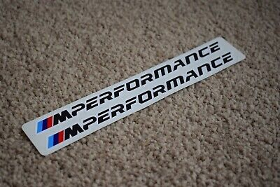 BMW M Performance Racing Car Sportscar F1 Race Decal Stickers Logo M3 M4 100mm