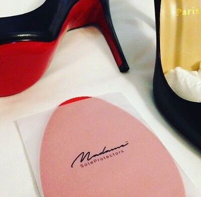 2 X Pair Red Large Self Adhesive Sole Protectors for all Christian Louboutins