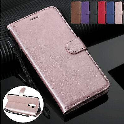 For Samsung Galaxy A6S/A750/A8/A9/C9pro Magnetic PU Leather Wallet Flip Case