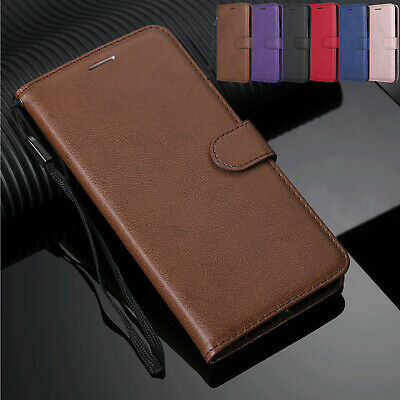 For Samsung Galaxy J8/J7 Duo/J6 prime Magnetic PU Leather Wallet Flip Case Cover