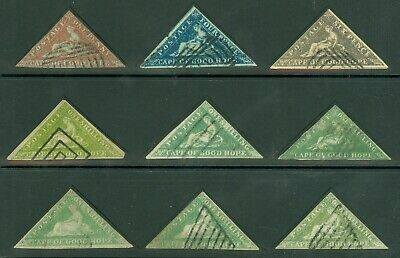 Cape of good hope Forgeries, nice selection, 1d, 4d, 6d & x 1/-  Nice study lot