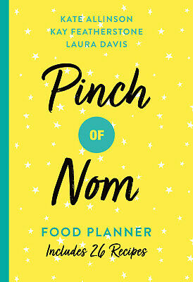 Pinch of Nom Food Planner - Weekly Meal Food Journal Diet Weight Loss Planner