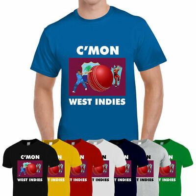 WEST INDIES CRICKETER MENS T-SHIRT TEE TOP GIFTCRICKET WORLD CUP