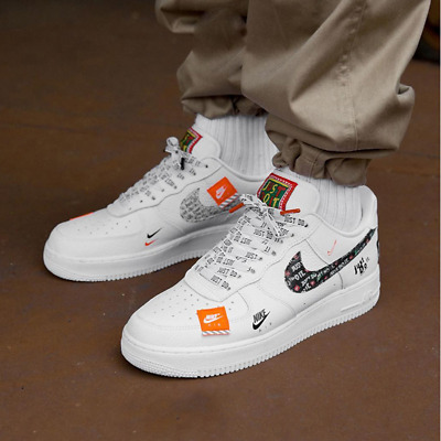 NIKE AIR FORCE 1 just do it EUR 85,00 | PicClick FR