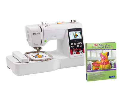 "BROTHER PE550D Disney 4""x4"" Embroidery Machine Plus BES2 Software Bundle"