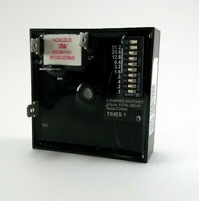 AIROTRONICS TGKAD11023//1023EE1HS Encapsulated Timer Relay,10A,Relay,LED