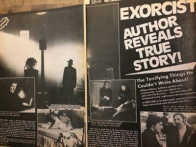 The Exorcist, Linda Blair, Four Page Vintage Clipping