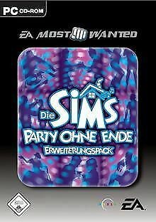 Die Sims: Party ohne Ende (Add-On) [EA Most Wante... | Game | Zustand akzeptabel