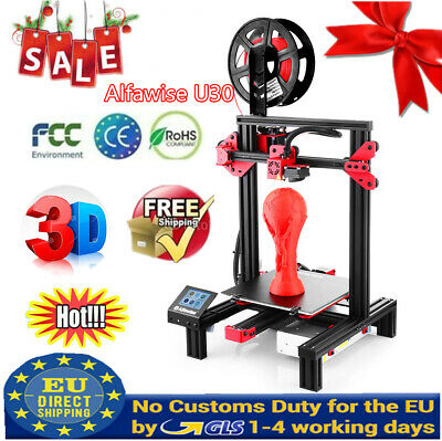 Alfawise U30 Impresora 3D Printer Kit Touch Screen 220x220x250mm Aluminium Alloy