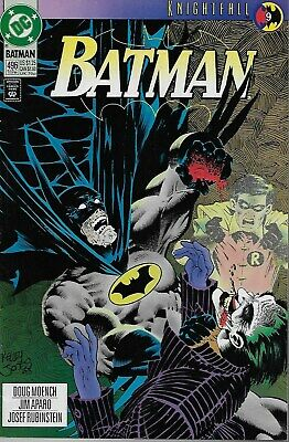 Batman (Vol.1) No.496 / 1993 Joker / Knightfall Part 9 / Doug Moench & Jim Aparo