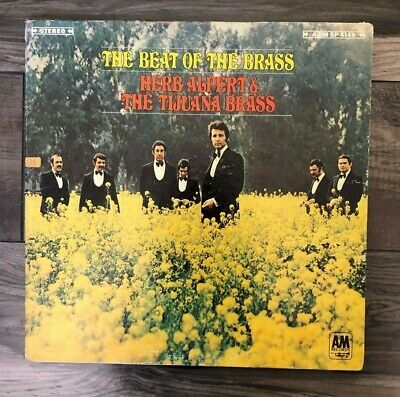 Herb Alpert And The Tijuana Brass Vinyl Record LP / The Beat Of The Brass /A&M